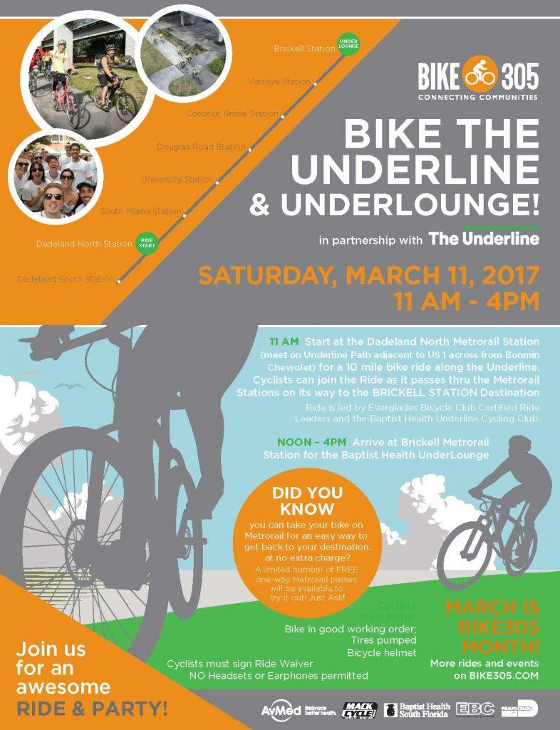 031117 Bike 305 Bike The Underline flyer